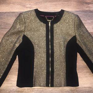 Ted Baker of London jacket/blazer black gold